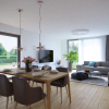 Jedáleň v malom byte: so správnym stolom pohostíte celú rodinu