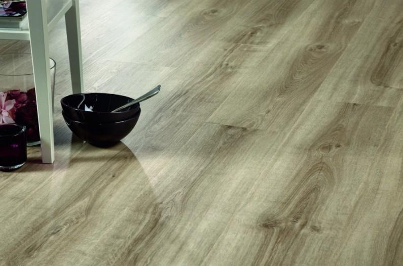 Estetický efekt podlahových krytín