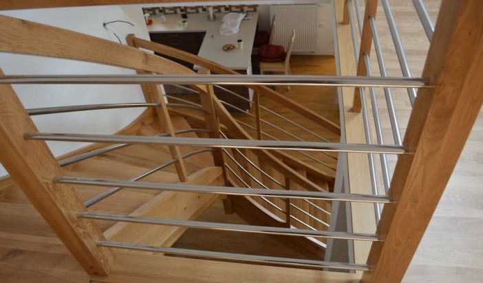 Výroba drevených schodov na Slovensku – to je Novodrevis